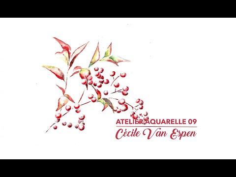 Atelier Aquarelle 09 : Bambou sacré