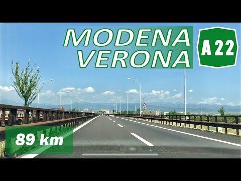 A22 | MODENA - VERONA | Autostrada Del Brennero