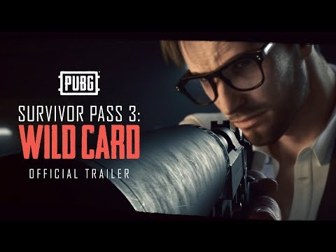 PUBG - Survivor Pass 3: Wild Card - NOW LIVE