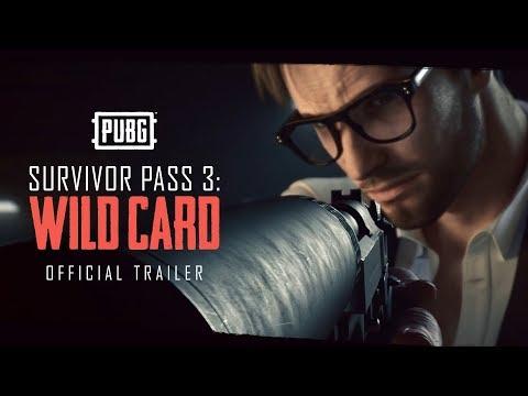 PUBG - Survivor Pass 3: Wild Card - NOW LIVE
