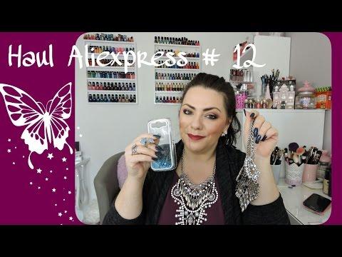 Haul Aliexpress # 12 bijoux, hight tech, nail art