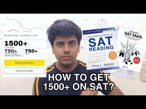 How To Get 1500+ On The SAT?