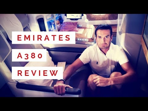 New Emirates A380 | Business Class Review - San Francisco to Dubai