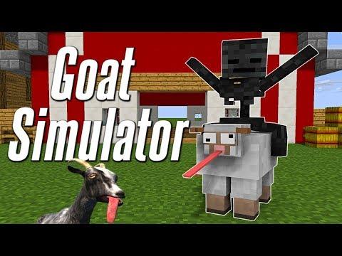 Monster School : GOAT SIMULATOR CHALLENGE - Minecraft Animation