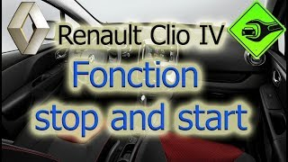 Renault Clio IV | Fonction stop and start