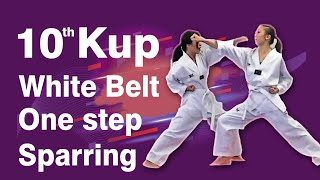 10th Kup White Belt One step Sparring