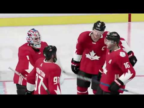 World Cup of Hockey 2016 Game Highlights Semifinal Russia vs Canada (EA NHL 17)