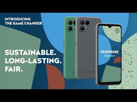 Introducing: FAIRPHONE 4   Sustainable. Long-lasting. Fair.