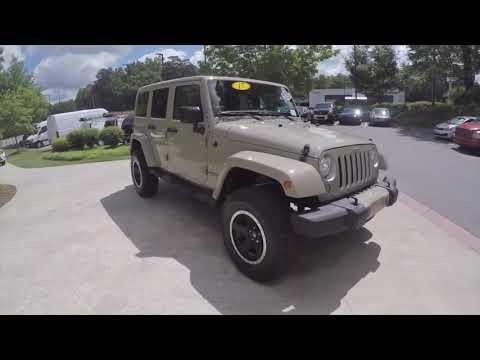 Used 2017 Jeep Wrangler Unlimited Atlanta GA Sandy Springs, GA #U14984A - SOLD
