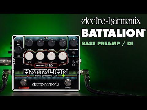 Electro-Harmonix Battalion Bass Preamp and DI