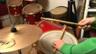 Drum Stick Patterns for Bossa Nova: 2-3 Round Clave