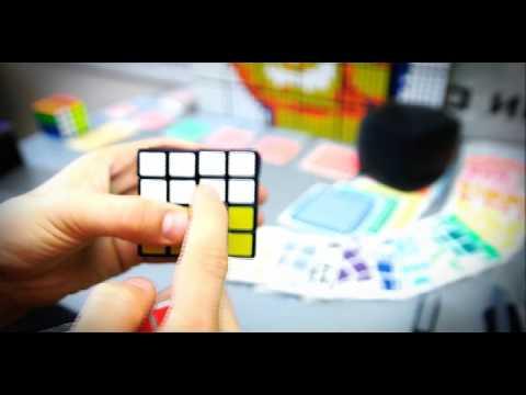 Как клеить наклейки на Кубик Рубика правильно