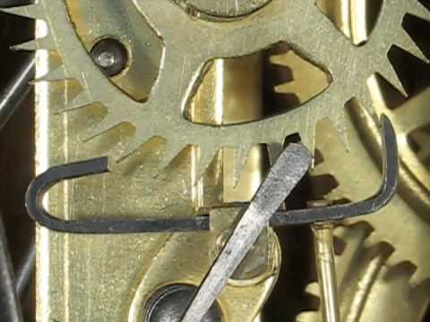 The Recoil Clock Escapement Showing Excess Entry Drop