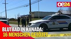 """Kanada: """"Falscher Polizist"""" tötet 16 Menschen"""