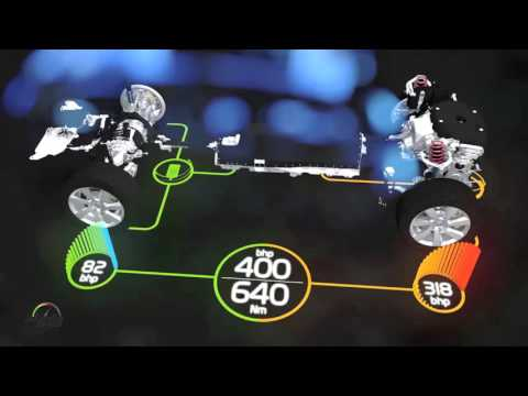 2016 Volvo XC90 T8 Plug-in Hybrid Power Train