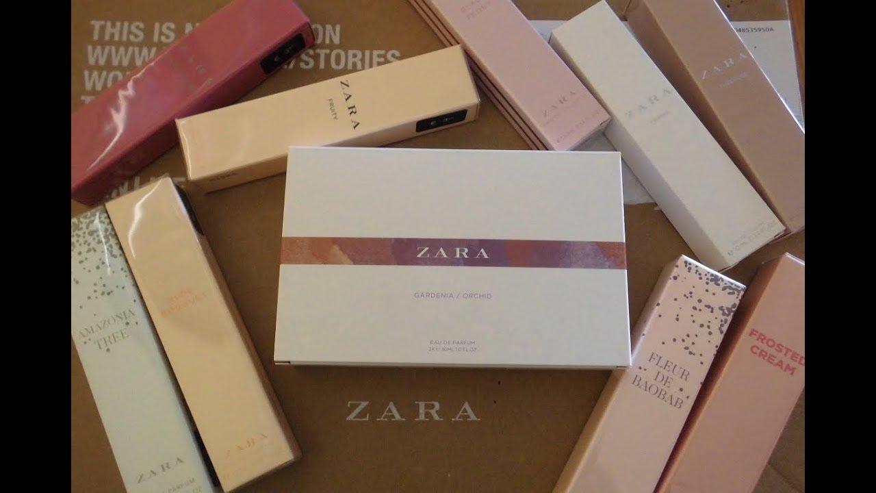 Mis Nuevos Perfumes De Zara Youtube