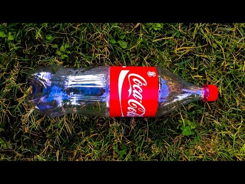 How to reuse waste soda bottle