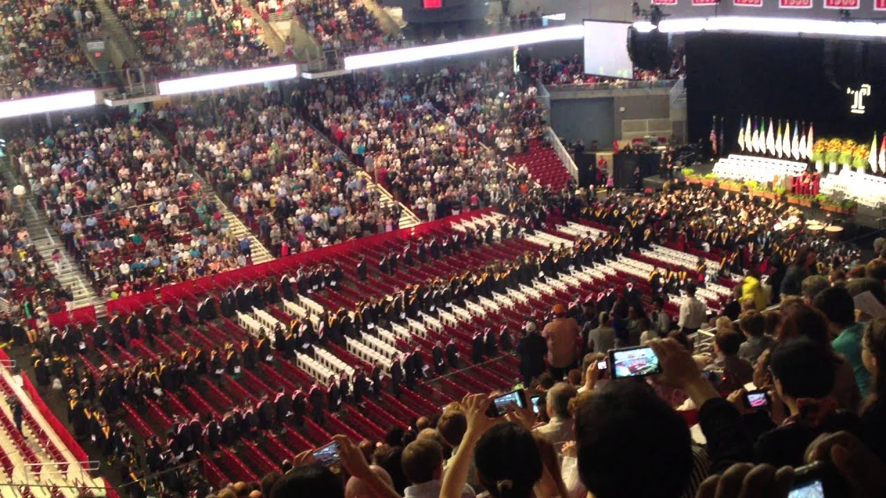 temple university commencement 2013 youtube