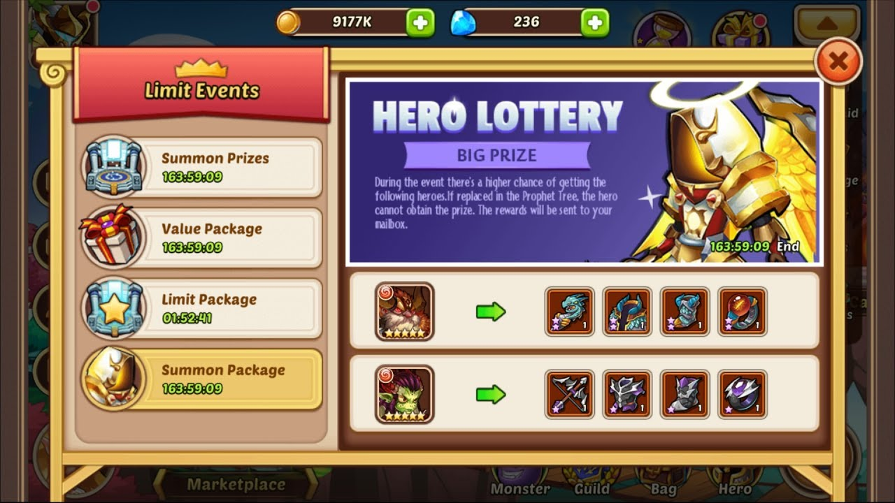 casino event idle heroes