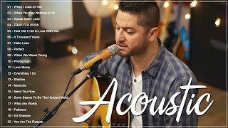 Best Acoustic Love Songs Cover 2021 - Top Hits English Acoustic Cover Of Popular Ballad Songs Ever