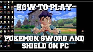 HOW TO PLAY POKEMON SWORD AND SHIELD ON PC WITH THE YUZU EMULATOR FULL SETUP GUIDE!