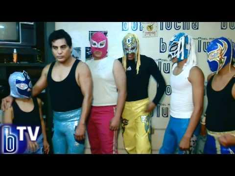 Luchadores de Veracruz a la capital