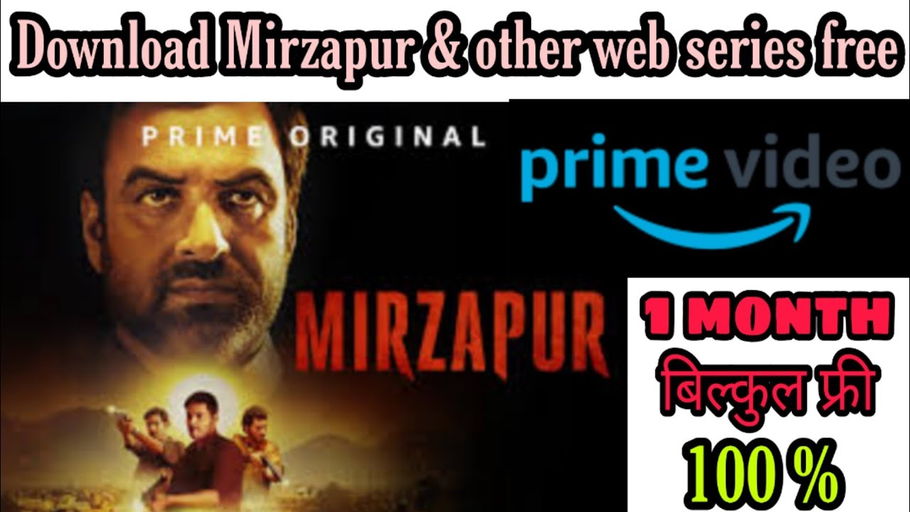 Download How to download web series ll How to download mirzapur web series ll download all web series free