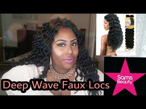 Deep Wave Faux Locs