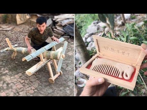 TOP 12 Creative craft use Bamboo and Wood