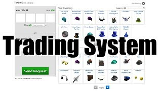 How to start trading on ROBLOX (Trade System)