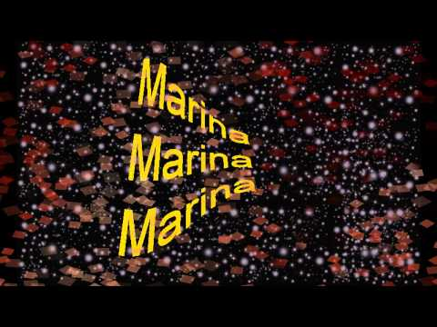 Gipsy Kings marina ( lyrics spanish+english)