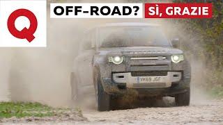 Gambar cover Land Rover Defender: ecco come va