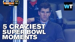 5 Craziest Moments of Super Bowl 2014 | What's Trending Now
