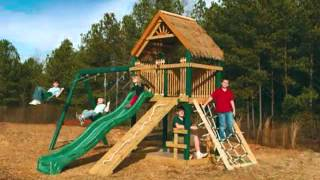 Children's Outdoor Swing Set   Playsets