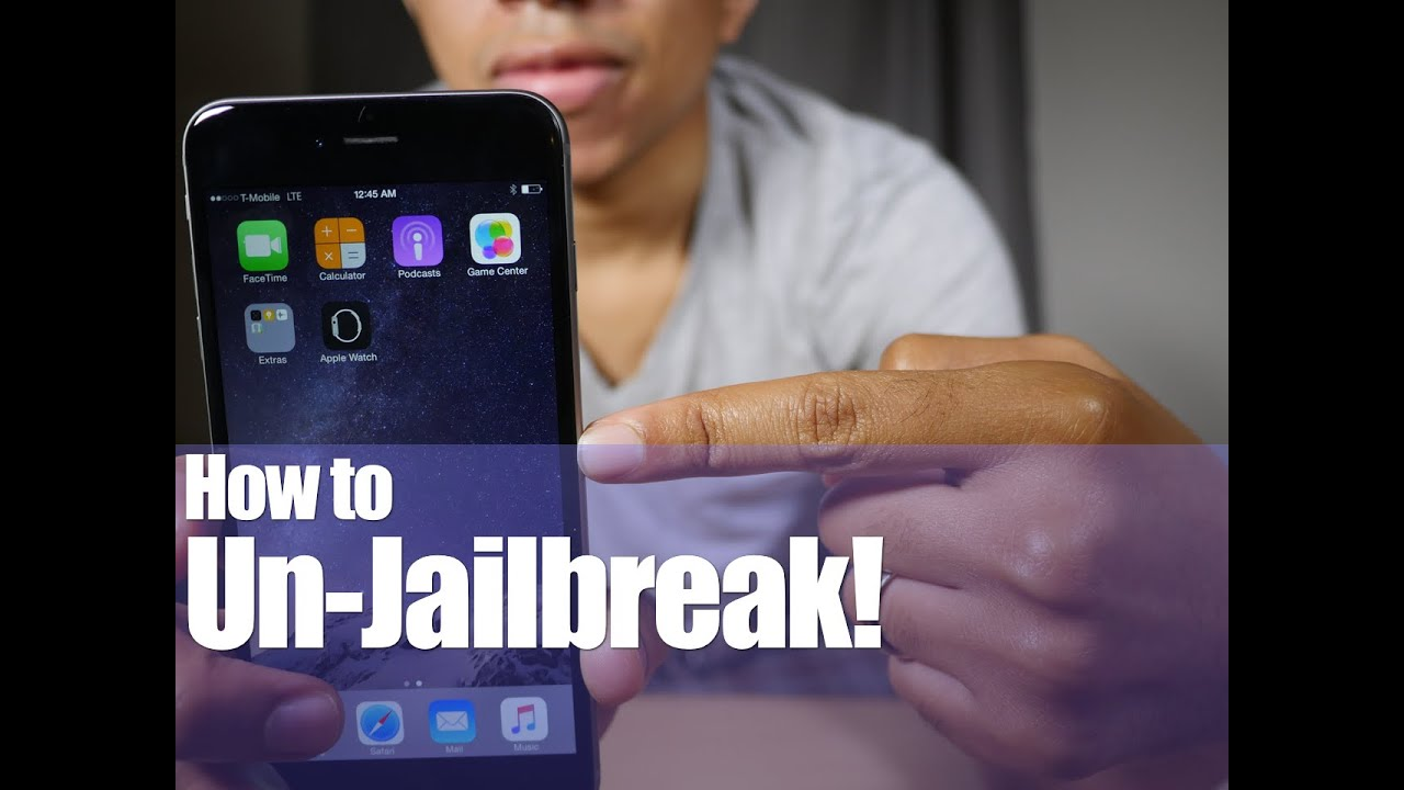 how to unjailbreak iphone without computer how to unjailbreak an iphone or ipod touch ios 8 3 2065
