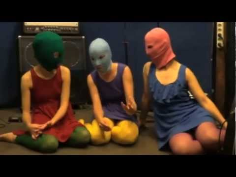"Pussy Riot Interview - members sentenced to two years in jail for performing ""punk prayer"""
