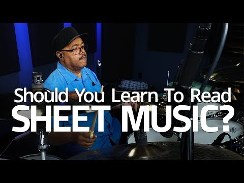 Should You Know How To Read Sheet Music? - Drum Lesson (Drumeo)