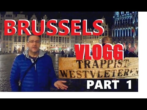 MY BRUSSELS VLOGG: what tourist places to visit? Grand place and Manneke pis