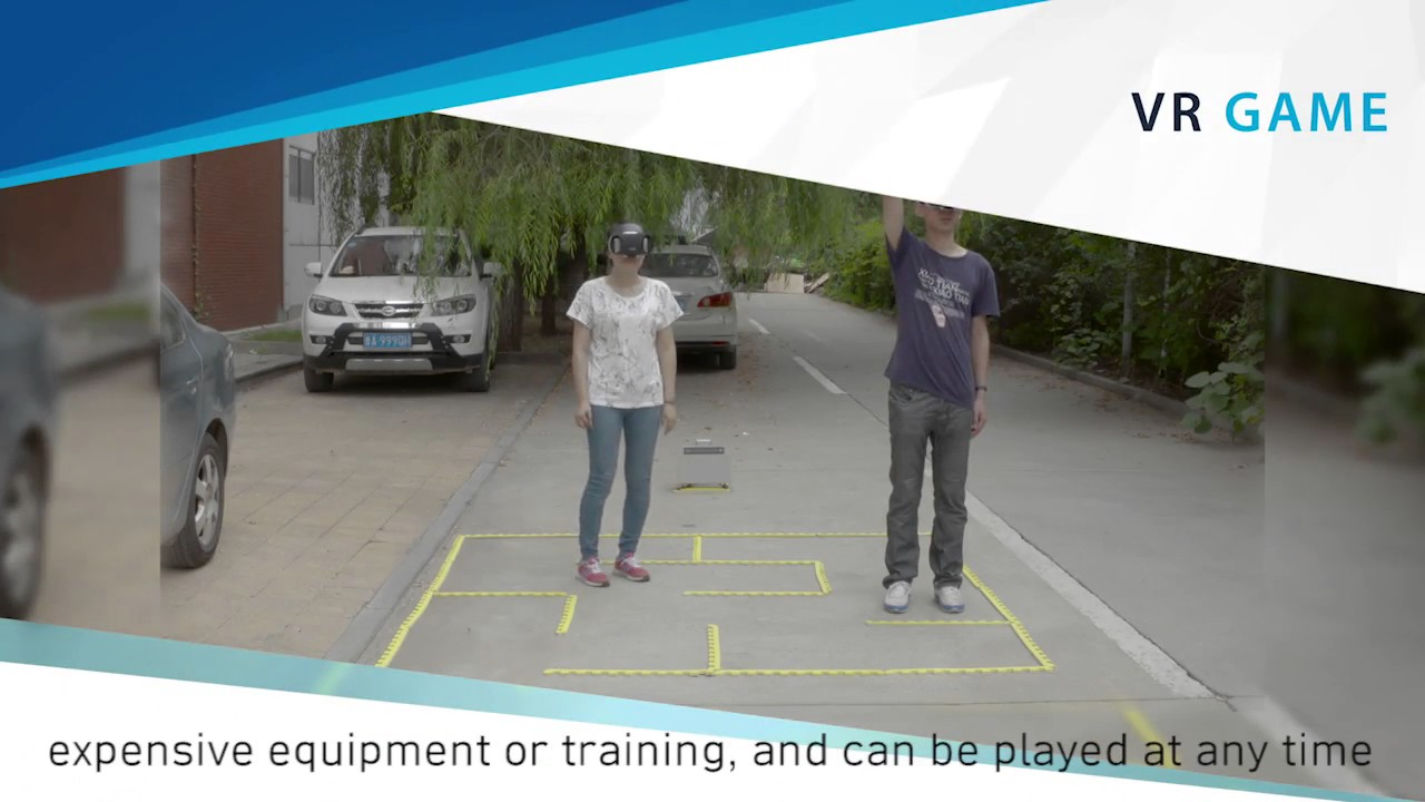 Supporting Easy Physical-to-Virtual Creation of Mobile VR