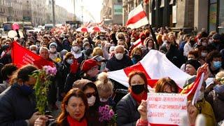 Landesweiter Generalstreik gegen Lukaschenko in Belarus