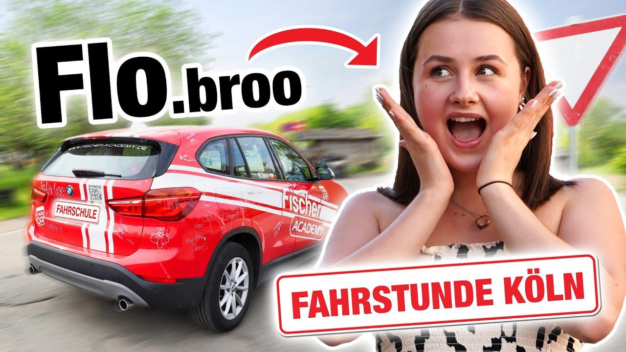 Fahrstunde mit Flobroo (LIGHT-Version Köln) 🤭 | Fischer Academy