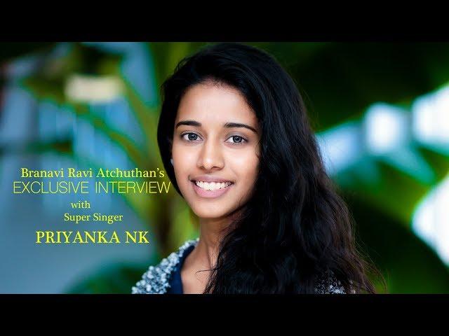 Super Singer Priyanka NK  Interview with Branavi.R