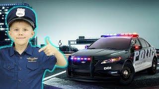 ПОЛИЦЕЙСКИЕ МАШИНКИ и участок полиции для детей - Полицейский Даник. Сборник весёлых детских видео