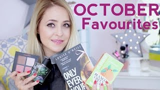 October Faves - 2015