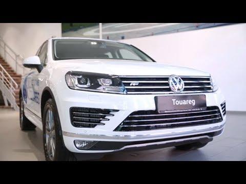 Тест-драйв Фольксваген Туарег 2016. Видео обзор Volkswagen Touareg