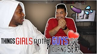 Things Girls Do That Guys Love During SEX!! Ft JJ Royalty😆🤷‍♂️(HILARIOUS)