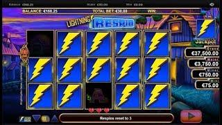 Un minor jackpot avec la machine à sous Lightning Horseman.