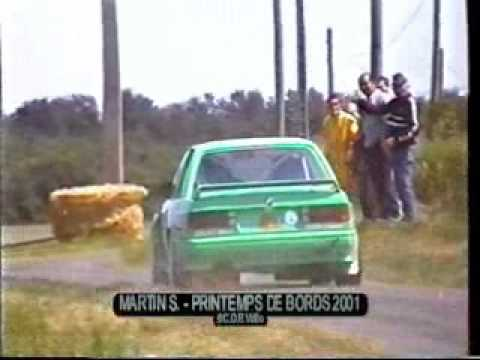 BMW E21 323i and E30 M3 in French rally action