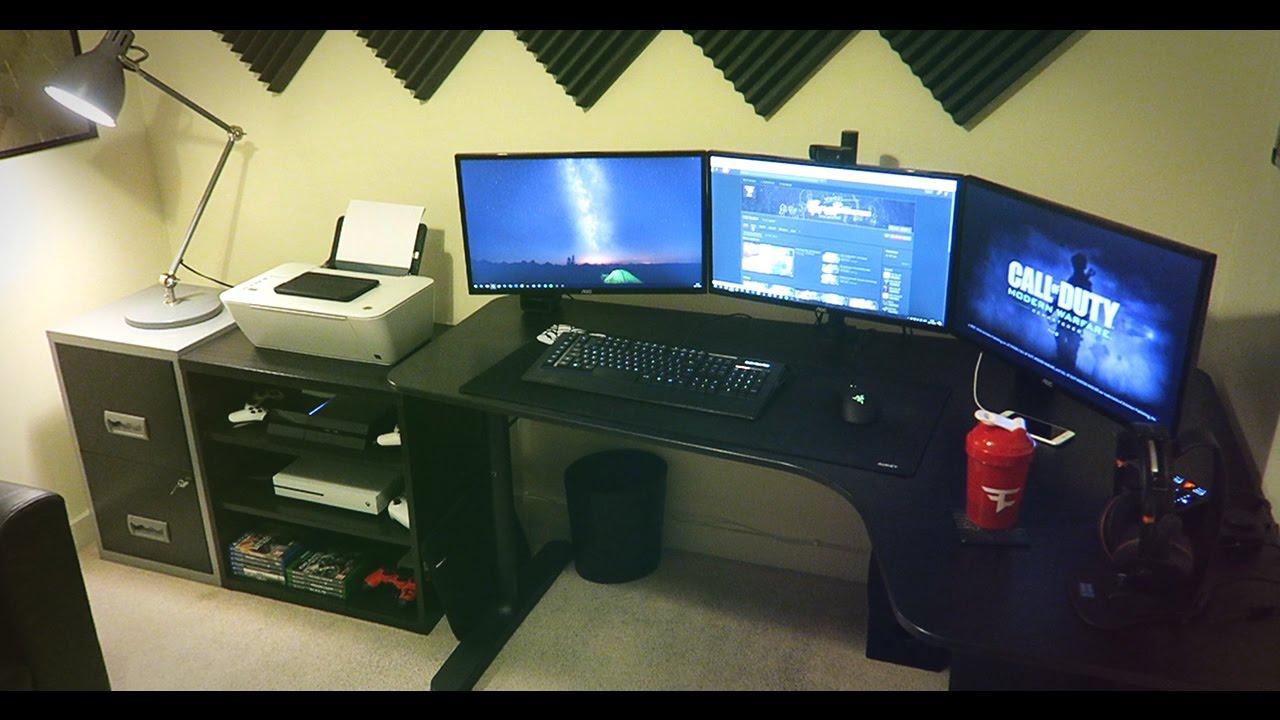 FaZe Spratt  My New Gaming Setup  YouTube