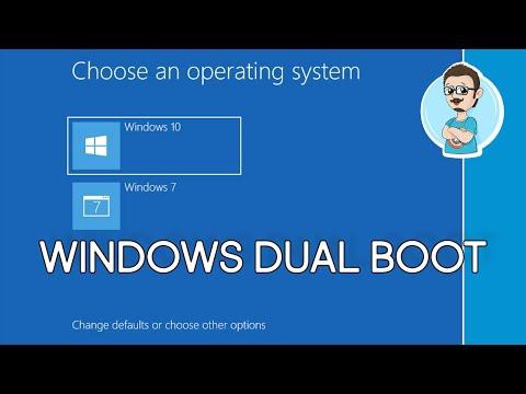 Dual Boot Windows 7 And Windows 10!